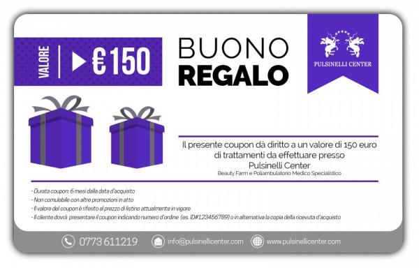 BUONO REGALO valore 150 EURO