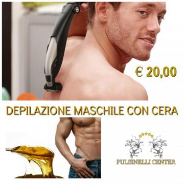 DEPILAZIONE MASCHILE CON CERA: SPALLE