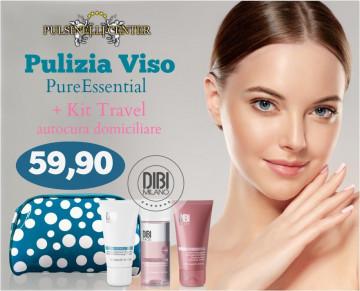 PULIZIA VISO PURE-ESSENTIAL + KIT DIBI