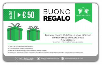 BUONO REGALO valore 50 EURO