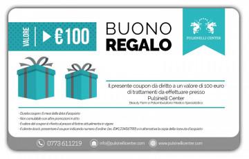 BUONO REGALO valore 100 EURO