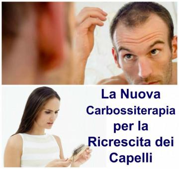 La Nuova Carbossiterapia per la Ricrescita dei Capelli