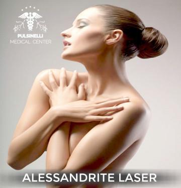 DEPILAZIONE MEDICALE ALESSANDRITE LASER : BRACCIA