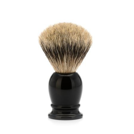 Pamatuf Silvertip Badger,cu par de bursuc, maner rasina