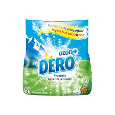 Detergent automat Dero Roua Muntelui + Ozon 400g, 4 spalari