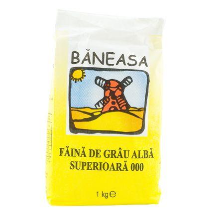 Faina de grau 000 alba superioara Baneasa 1kg