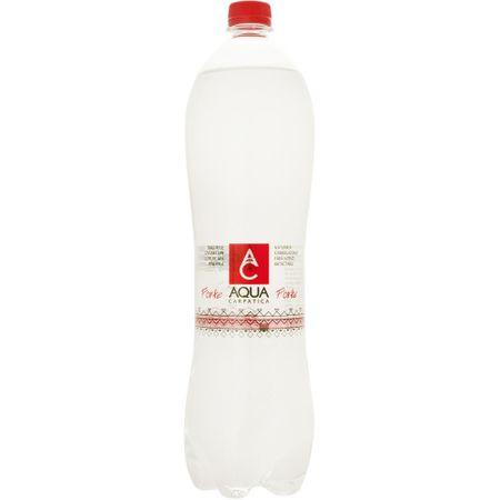 Apa minerala carbogazoasa forte 1,5L Aqua Carpatica