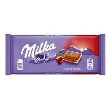 Ciocolata Milka cu crema de visine 100 g