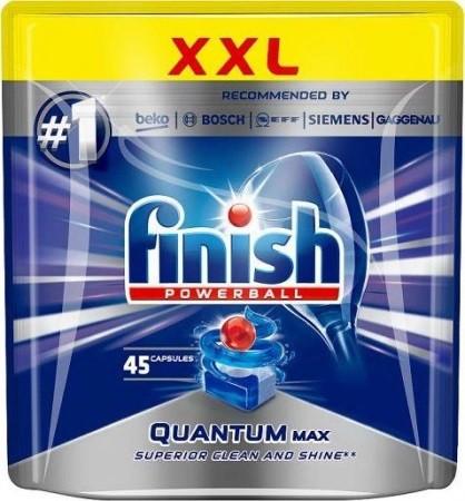 Capsule pentru masina de spalat vase, Finish Quantum Max, 45 tablete