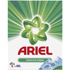 Detergent automat Ariel Mountain Spring, 400g, 4 spalari