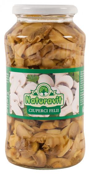 Ciuperci felii 720ml Naturavit