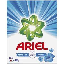 Detergent automat Ariel Touch Of Lenor, 400g, 4 spalari