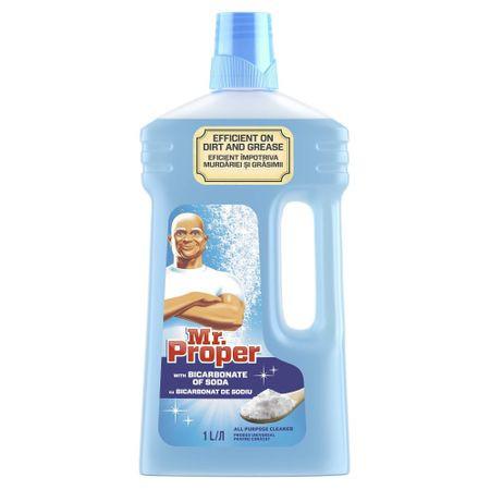 Detergent pardoseli Bicarbonat de Sodiu, 1L Mr. Proper