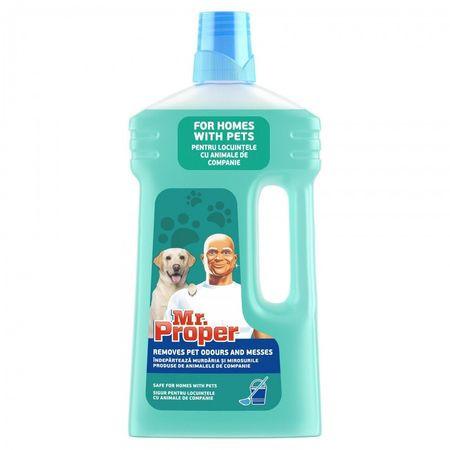 Detergent pardoseli pentru locuinte cu animale de companie, 1L Mr. Proper Pet