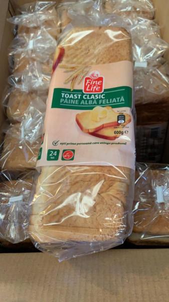 Paine toast clasic 600g Fine Life