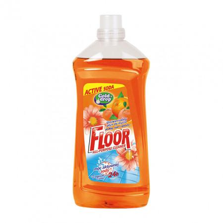 Detergent pardoseli Gold Drop, Orange, 1.5L Floor