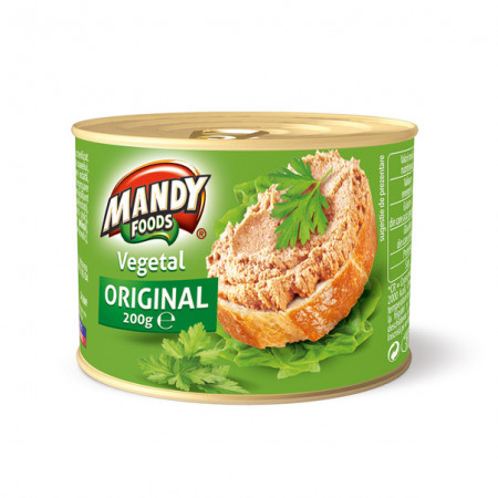 Pate vegetal 200g Mandy