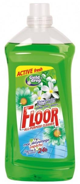 Detergent Pardoseli Gold Drop ,Spring Flowers, 1.5L Floor