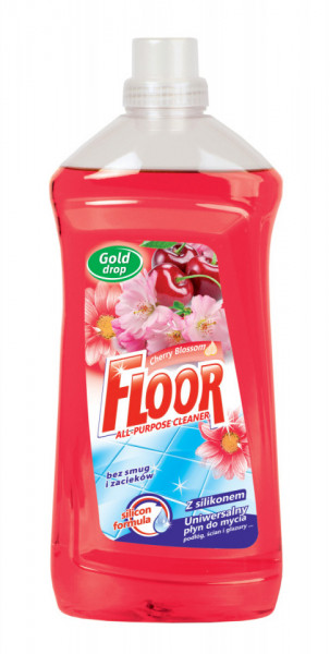 Detergent pardoseli Gold Drop ,Floare de cirese, 1.5L Floor