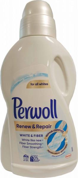 Detergent lichid 900ml, 15 spalari Perwoll Renew & Repair White