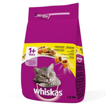 Hrana pisici 1.4kg Whiskas pui