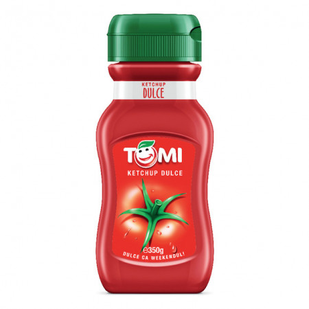 Ketchup dulce 350g Tomi