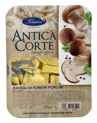 Ravioli cu ciuperci (funghi porcini) 250g Temporin