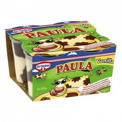 Budinca Paula 4x125g Vanilie
