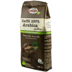Cafea BIO macinata 100% Arabica, 250g Salomoni