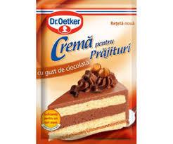 Crema de ciocolata prajituri Dr.Oetker 55g