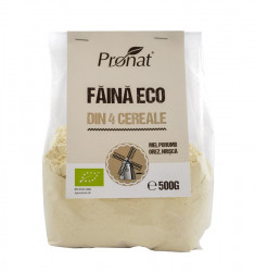 Faina BIO din 4 Cereale fara Gluten 500g Pronat