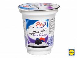 Iaurt cu fructe 150g fructe de padure Pilos