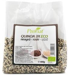 Amestec de Quinoa BIO 400g Pronat