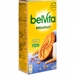 Biscuiti cu lapte si cereale 300g BelVita