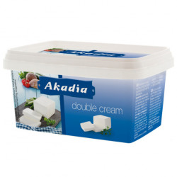 Branza Double Cream 400g Akadia