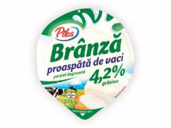 Branza proaspata de vaci 4,2% 275g Pilos