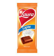 Ciocolata Laura - cu lapte 95g