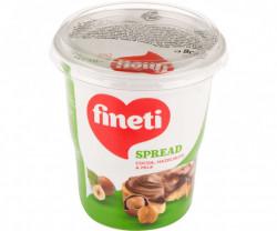 Crema de cacao alune de padure si lapte 400g Fineti