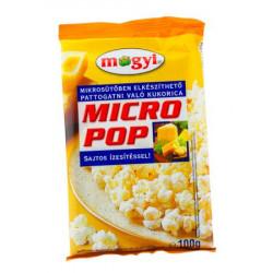 Popcorn cu aroma de cascaval pentru microunde 100g Mogyi