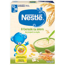 Cereale Nestle 8 Cereale cu Miere, 250 g