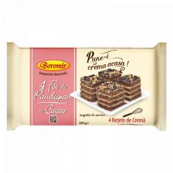 Foi Pandispan cu cacao 380g Boromir