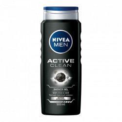 Gel de dus Active Clean, 500 ml Nivea Men