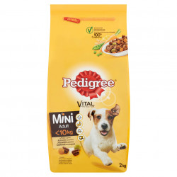 Hrana pentru caini, mini adult, pui 2kg Pedigree