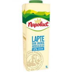 Lapte Napolact 1.5% grasime 1L