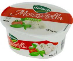 Mozzarella 125g Delaco