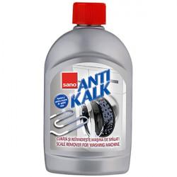 Solutie anticalcar pentru masina de spalat rufe, 500ml Sano