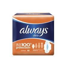 Absorbante Always Ultra Plus 10 buc