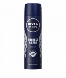 Anti-perspirant Spray 150ml Protect&Care Nivea Men