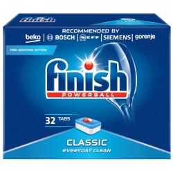 Capsule pentru masina de spalat vase, Finish Classic, 32 tablete