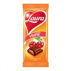 Ciocolata Laura - crema de visine 95g